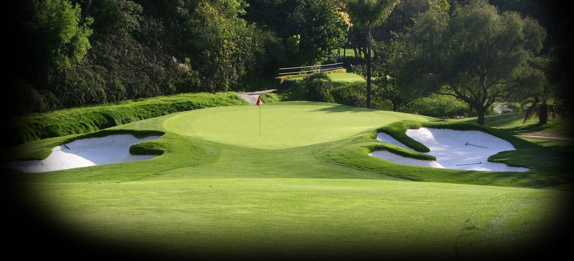 Haciendo Golf Club California Map.Hacienda Private Golf Club Championship Golf Course