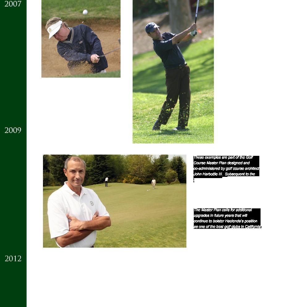 hacienda-golf-club-timeline